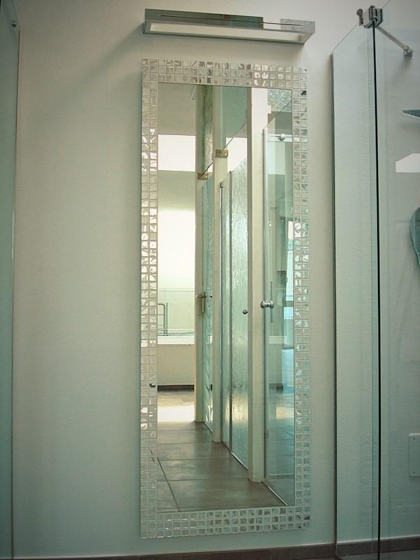 Spadazzi vetreria cornice a mosaico tree - Specchio mosaico vetro ...